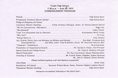 Commencement Program Schedule